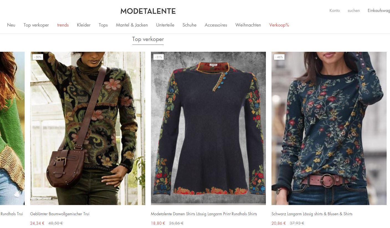 Modetalente Erfahrungen